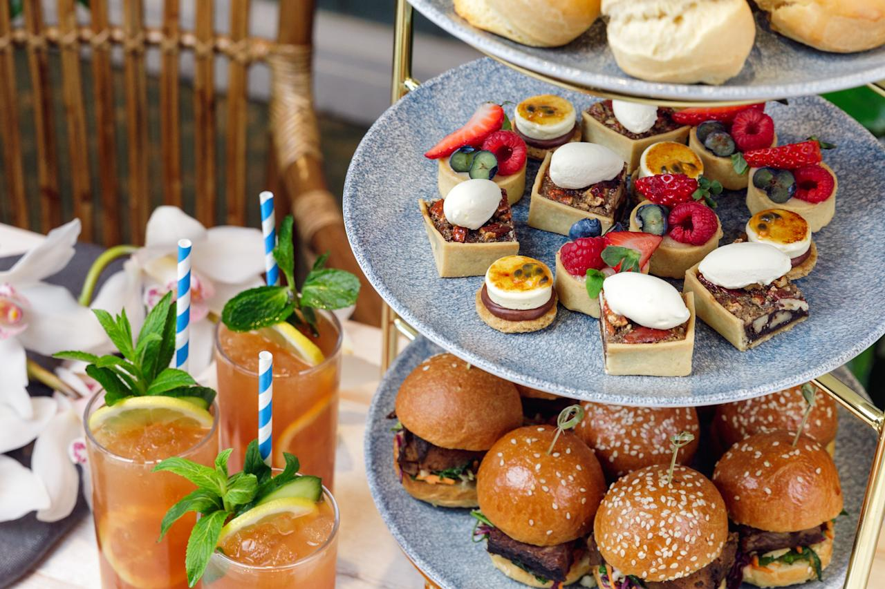 <p>Step into New Orleans' French Quarter on Sydney Harbour – a Louisiana-themed high tea experience. From August the Plantation High Tea will take place on the last Sunday of each month with southern treats like lobster rolls, scones with bourbon and peach marmalade and blood plum jam, as well as s'mores with passionfruit and chocolate ganache' and pecan tart pies on offer. Don't forget the bottomless house-made booze-free Southern Iced Tea! Photo: NOLA Smokehouse and Bar </p>