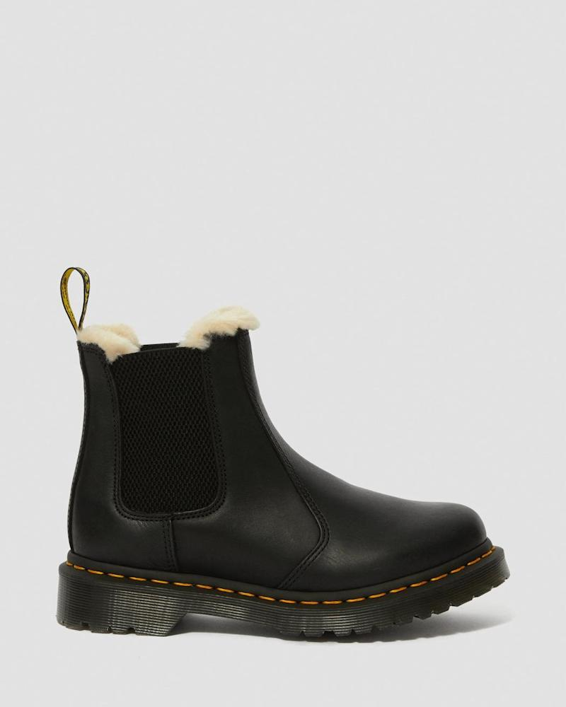 Dr. Martens Fur-lined 2976 Leonore Wyoming Chelsea Boots