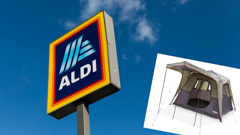 Aldi is selling a six-person tent for just $179 – but only this weekend.