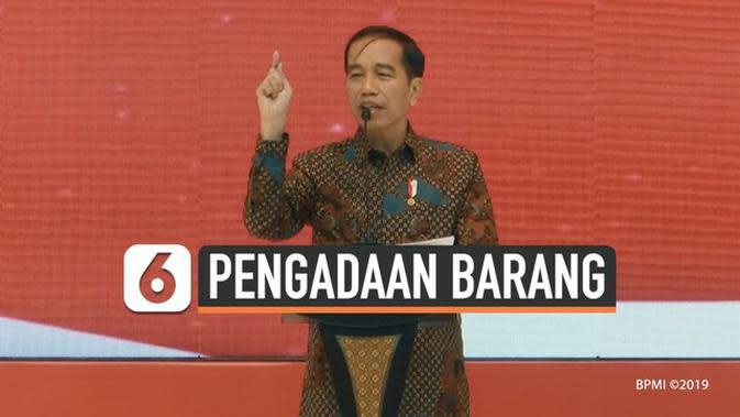 VIDEO: Jokowi Marah Ada Rp 31 Triliun Tender Belum Jalan