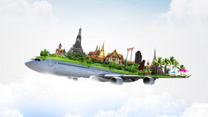 Ilustrasi kemudahan transportasi ke Thailand.