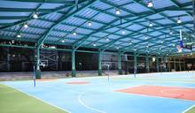 全國校園最大「風雨球場」在南台 落成啟用
