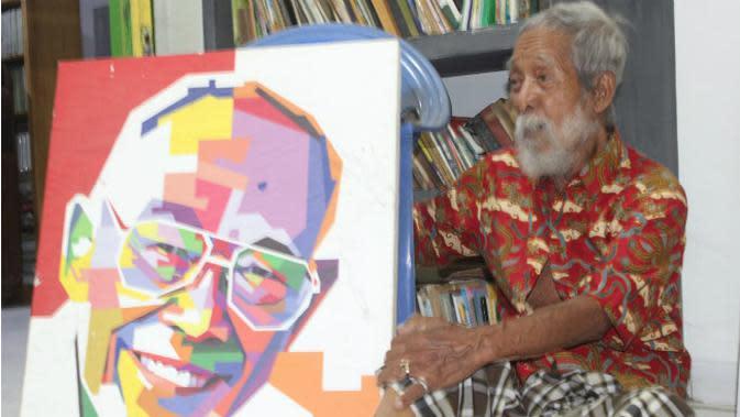 Sosok Minke diungkap oleh Soesilo Toer, yang tidak lain adalah adek kandung dari penulis novel 'Bumi Manusia', Pramoedya Ananta Toer. (Liputan6.com/Ahmad Adirin)