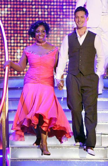 Gladys Knight and Tristan MacManus  (4/02/12)