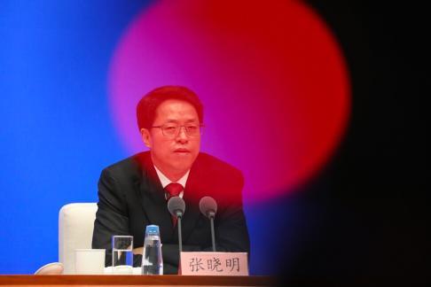 Zhang Xiaoming, of HKMAO. Photo: Simon Song