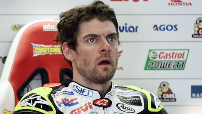 Cal Crutchlow. (AFP/Javier Soriano)