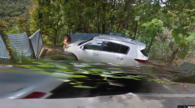 Google Maps exposes couple on side of road on google engineer, google hotels, google airlines, google media, google marketing, google id,
