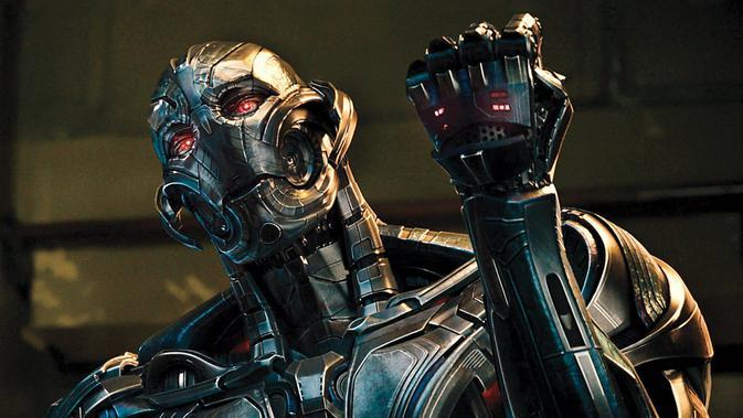 Ultron dalam film Avengers: Age of Ultron. (Marvel Studios)