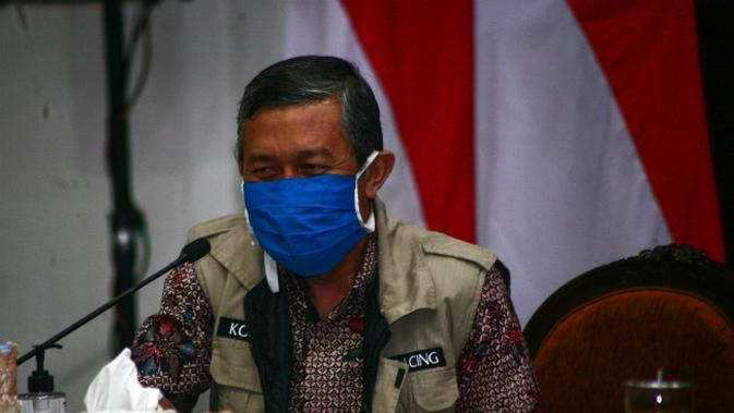 Ketua Tim Tracing Gugus Tugas Covid-19 Jawa Timur, Kohar Hari Santoso (Foto: Liputan6.com/Dian Kurniawan)