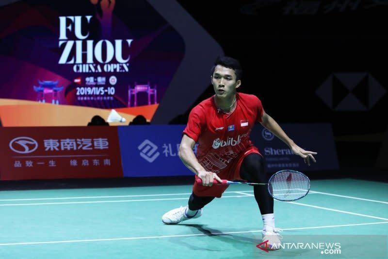 Dihadang Antonsen, Jojo urung ke semifinal Fuzhou China Open