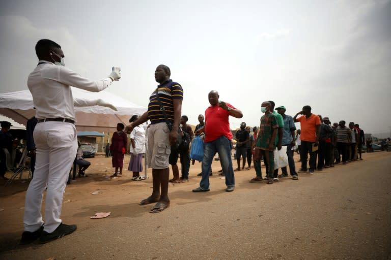 Nigerian President Muhammadu Buhari has ordered a lockdown to limit the spread of COVID-19
