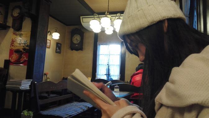 Bagpipe cukup terkenal karena menjadi latar dalam anime Hyoka. Anime ini cukup populer di beberapa negara Asia. (Andry Haryanto/Liputan6.com)