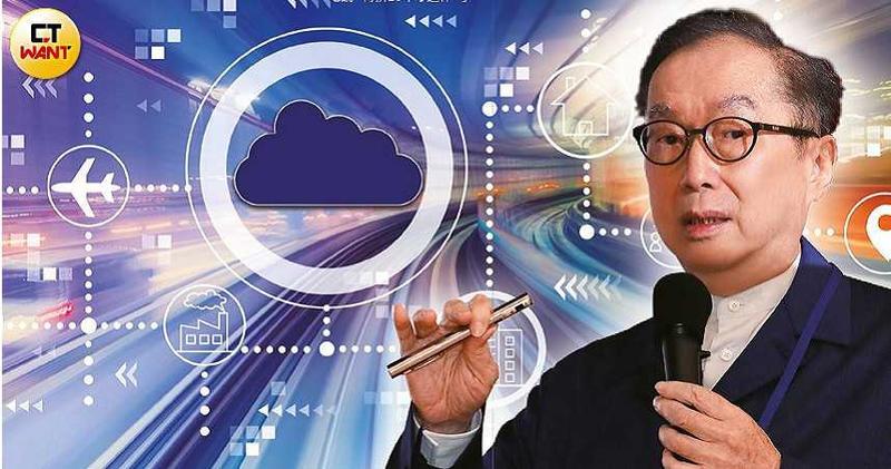 71歲的林百里看好雲端、AI加上5G的創新應用,興奮地說「再拚10年才退休。」(圖/王永泰攝)