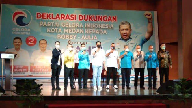 Fahri Hamzah Dukung Bobby Nasution-Aulia Maju Pilkada Kota Medan