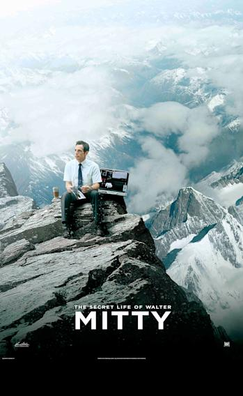 The Secret Life of Walter Mitty Mountain Poster