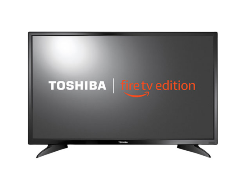 "Toshiba 32"" 720p LED Smart TV Fire TV Edition. Image via Best Buy"