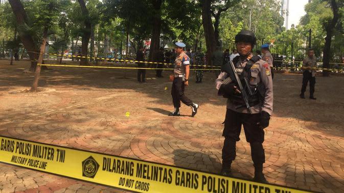 Ungkap Kasus Granat Meledak di Monas, Polisi Tunggu Hasil Uji Laboratorium