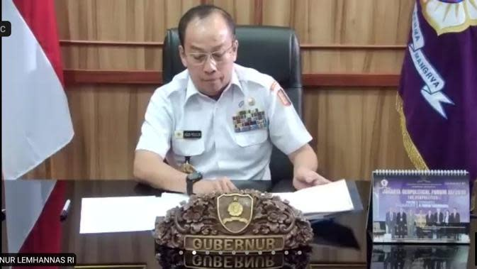 Gubernur Lemhannas: Isu Komunisme Sengaja Dimunculkan untuk Kepentingan Politik
