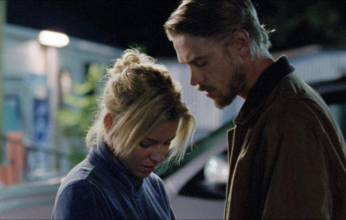 "This photo provided by the Sundance Institute shows Elizabeth Banks, left, and Boyd Holbrook, in a scene from the film, ""Little Accidents,"" directed by directed by Sara Colangelo. The film will have its premiere at the 2014 Sundance Film Festival. The festival runs Jan. 16 - 26, 2014, in Park City, Utah. (AP Photo/Sundance Institute, Rachel Morrison)"