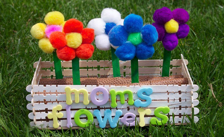 "<p>If Mom loves flowers, fill up a window box for her with bright, beautiful blooms. This project requires a hot glue gun, and some supervision from an adult, but when it's done Mom will be delighted. </p><p><em><a href=""https://www.craftprojectideas.com/moms-flower-box/"" target=""_blank"">Get the tutorial at Craft Project Ideas »</a></em></p>"