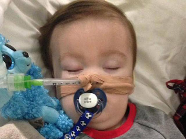Alfie Evans' parents want to take him to receive treatment in Italy (PA)