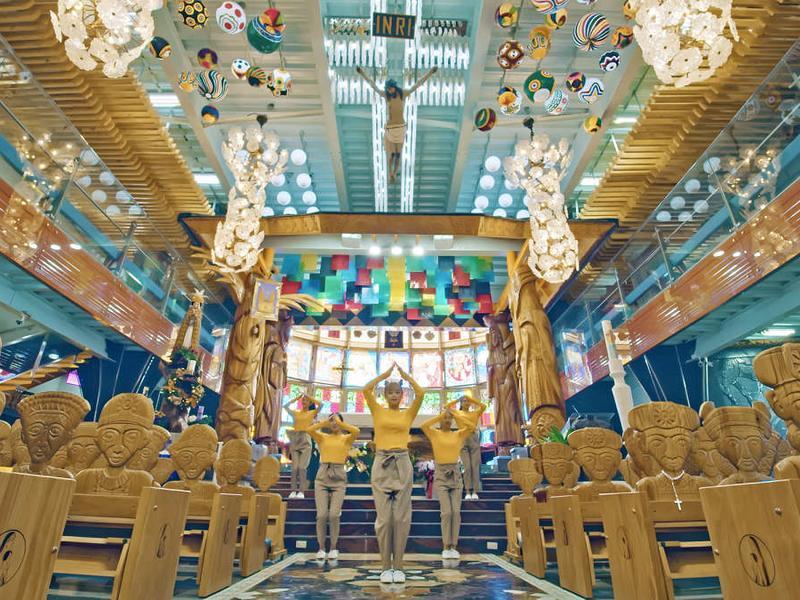 最美教堂:天主教佳平法蒂瑪聖母堂