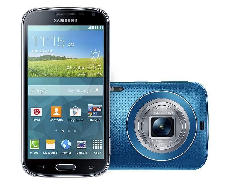 K Zoom2 Samsung Galaxy K Zoom: Android Canggih dengan Kamera 20,7 Megapixel & 10X Optical Zoom smartphone news mobile gadget