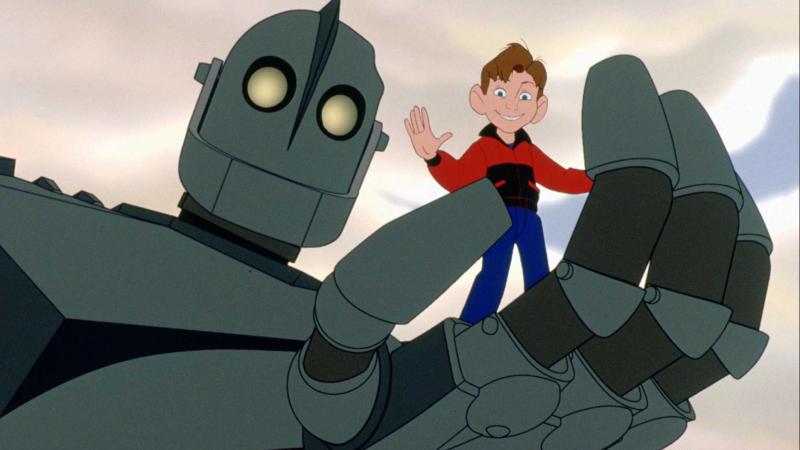 'The Iron Giant'. (Credit: Warner Bros)