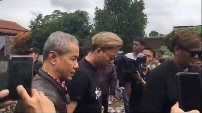 Kondisi Terkini Pembongkaran Makam Mendiang Lina (Sumber: Merdeka)