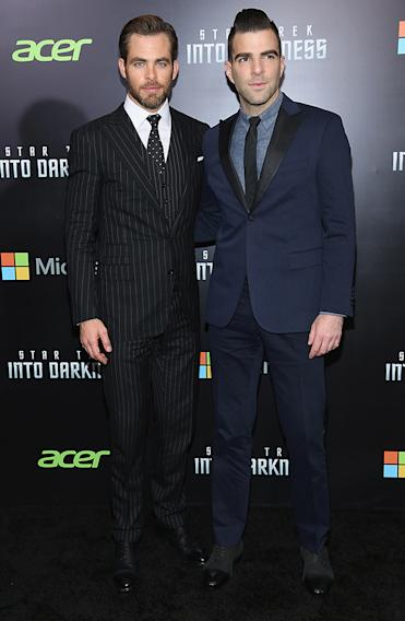 """Star Trek Into Darkness"" New York Special Screening - Inside Arrivals"