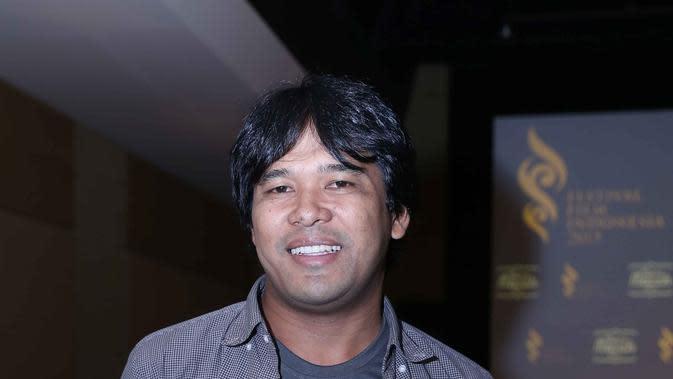 Ifa Isfansyah, produser film SITI saat preskon FFI film Siti dan Toba Dreams (Yunan Laziale/bintang.com)