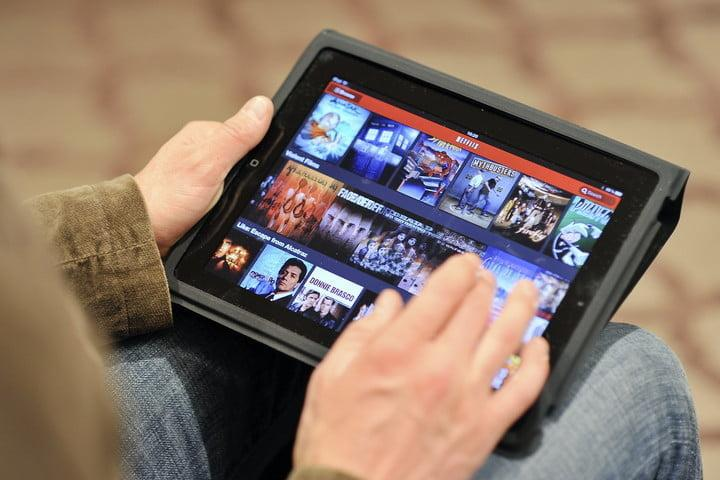 Netflix launch in UK on iPad in 2012