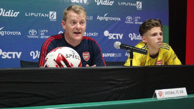 U-20 International Cup 2019: Pelatih Arsenal U-18 Kagumi Skill Penggawa Indonesia All Stars