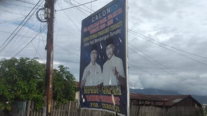Syarat dukungan kandidat yang maju lewat jalur independen ini ditentukan jumlah dukungan minimal 10 persen dari DPT pemilu terakhir di Ternate.