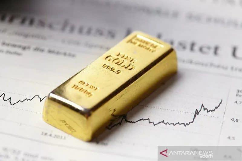 Harga emas jatuh 18 dolar, setelah Trump hentikan pembahasan stimulus