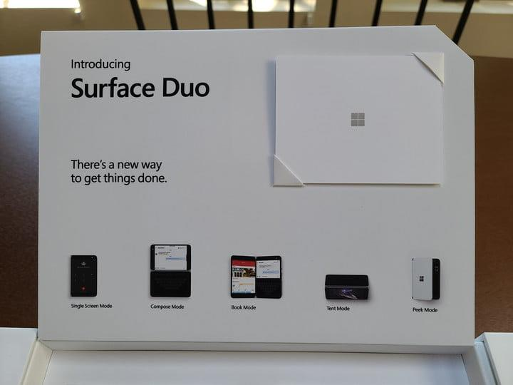 surface duo unboxing first impressions reviewer kit top