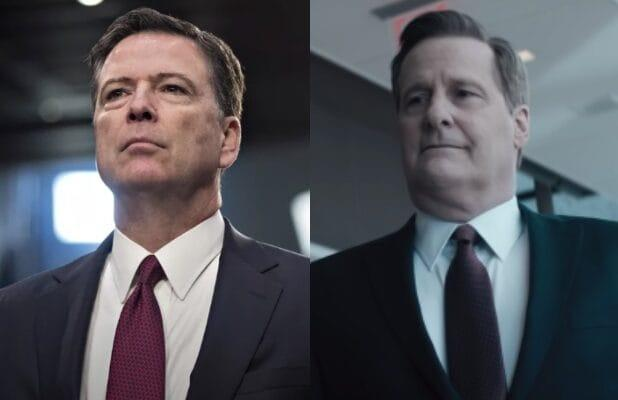 James Comey Got 'Nauseous' Watching 'The Comey Rule,' Jeff Daniels Says (Video)