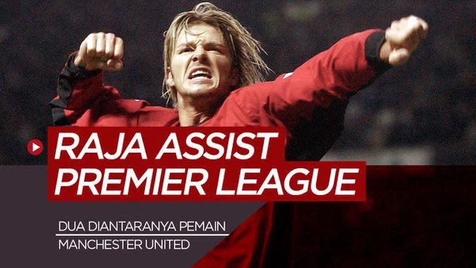 MOTION GRAFIS: 7 Raja Assist Premier League dari Masa ke Masa, Dua Diantaranya Bintang Manchester United