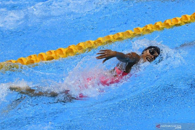 Azzahra raih perak renang 200 m gaya ganti putri