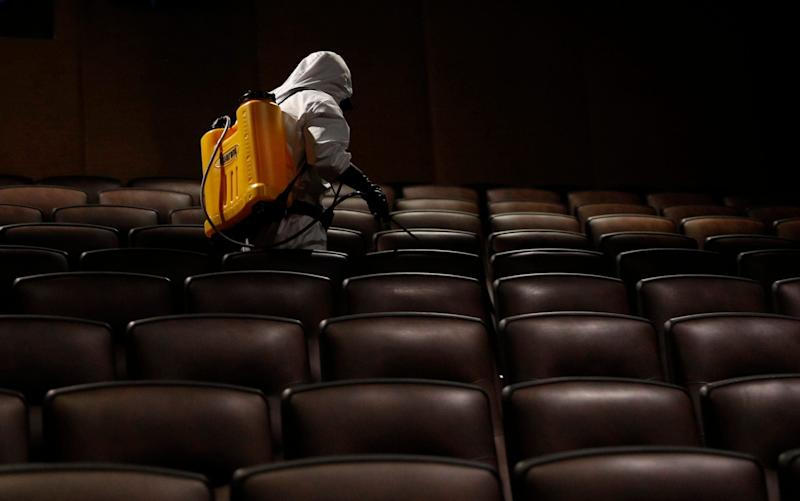 Cinemas are now deep-cleaned between screenings - Juan Karita