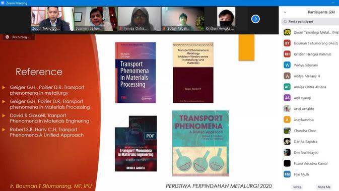 Mahasiswa PEP Bandung Mengikuti Kuliah Daring Perdana