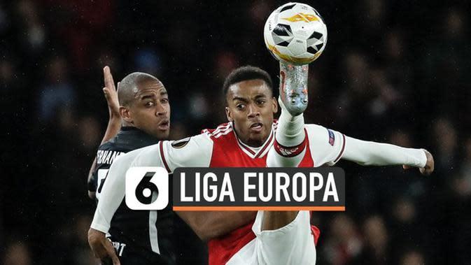 VIDEO: Di Kandang Sendiri, Arsenal Dibungkam Eintracht Frankfurt 1-2