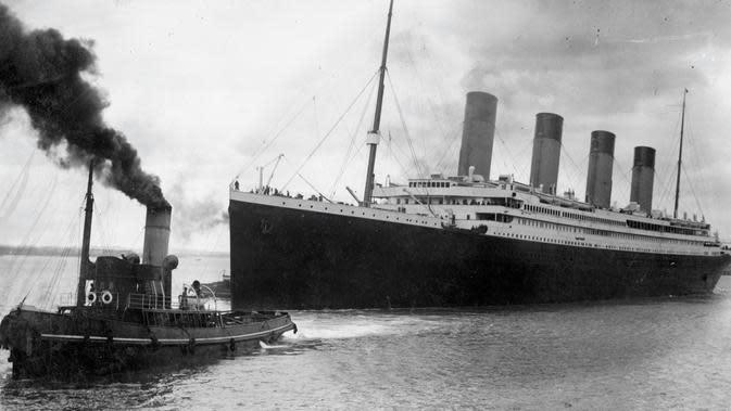 Kapal titanic. (SOUTHAMPTON CITY COUNCIL / AFP)