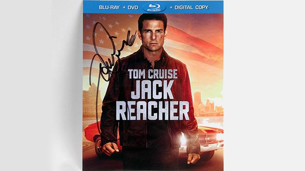Yahoo! Movies Giveaway: 'Jack Reacher' Blu-ray Signed by Tom Cruise