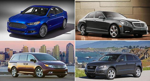 2013 Best Cars for Families awards