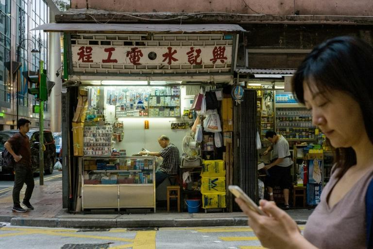 With retail sales down and tourist numbers plunging, Hong Kong's economy appears headed for its first annual contraction since 2009