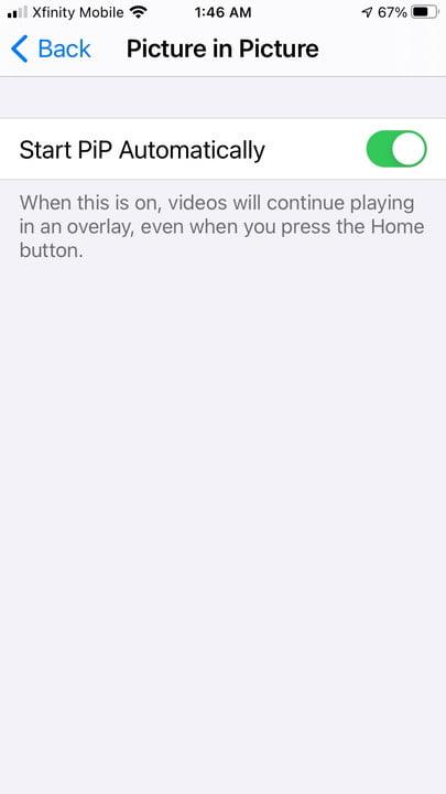 how to use ios 14 picture in mode watch video pip8