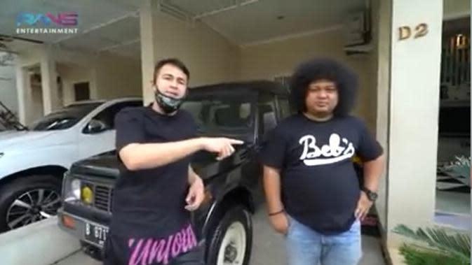 Raffi Ahmad kunjungi rumah Babe Cabiita