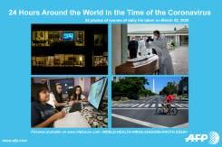 Hidup di saat wabah virus corona: 24 jam seputar dunia dalam foto
