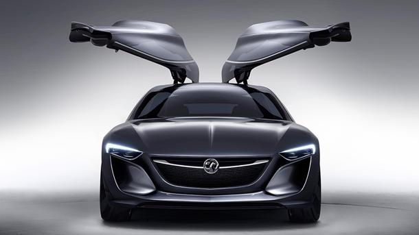 Opel Monza concept rides the waves to Frankfurt auto show